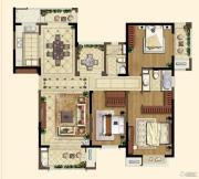 中海凤凰熙岸・玺荟3室2厅2卫155平方米户型图