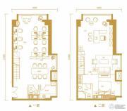 金鹰天地广场0室0厅0卫92平方米户型图