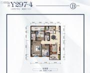 荆州碧桂园3室2厅2卫110平方米户型图