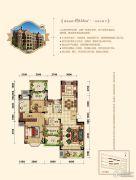 晟鑫康诗丹郡3室2厅2卫125平方米户型图