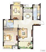 农房・英伦尊邸2室1厅1卫95平方米户型图