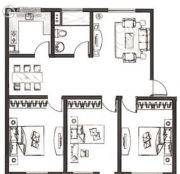 御园3室2厅1卫0平方米户型图