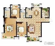 中建溪岸观邸3室2厅2卫140平方米户型图