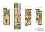 三盛・国际海岸4室4厅4卫0平方米户型图