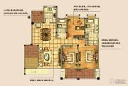 海天紫郡4室2厅2卫137平方米户型图