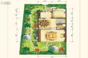 保利锦江里4室4厅3卫183平方米户型图