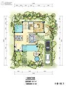 九仰爱琴海1室2厅1卫92--189平方米户型图