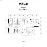 牧云溪谷0室2厅3卫172平方米户型图