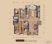 中广宜景湾・尚城4室2厅4卫269平方米户型图