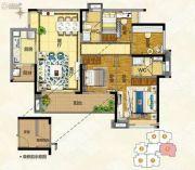 奥园誉�o4室2厅2卫109平方米户型图