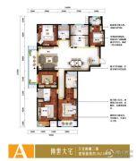 泽润・世家公馆5室2厅3卫0平方米户型图
