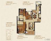恒大悦珑湾3室2厅2卫125平方米户型图