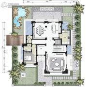 3号别墅0平方米户型图
