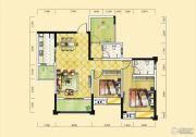 远达天际上城3室2厅2卫102平方米户型图