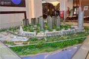 锦绣山河・低碳智慧新城沙盘图