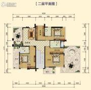 中海黄金海岸326平方米户型图