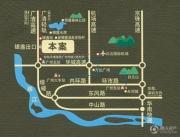 恒大银湖城交通图