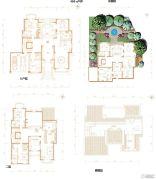 凯德麓语4室3厅7卫450平方米户型图