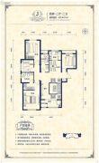 阳光揽胜4室2厅2卫146平方米户型图