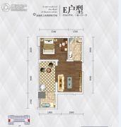 英祥・春天广场1室1厅1卫38平方米户型图