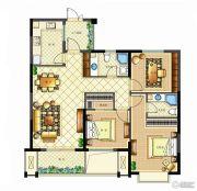 佳源广场3室2厅2卫110平方米户型图