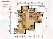 金科天宸0室0厅0卫66平方米户型图