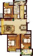 创维乐活城3室2厅1卫109平方米户型图