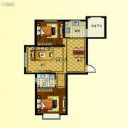 步阳江南甲第2室2厅1卫89平方米户型图