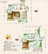 清江・月亮湾2室2厅2卫153平方米户型图