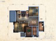 东泓福源国际2室2厅2卫0平方米户型图