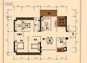 信鸿熙岸花园3室2厅2卫0平方米户型图