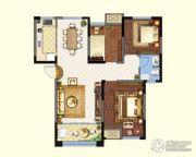 金城・康桥名郡2室2厅1卫103平方米户型图