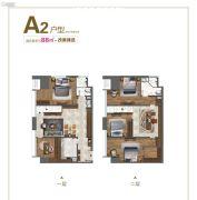 边城・悦都荟5室2厅1卫88平方米户型图