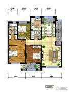 国际花都3室1厅1卫0平方米户型图