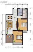 广弘豪庭2室2厅1卫0平方米户型图