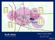 潮白河孔雀城英国宫交通图