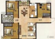 中国铁建国际城3室2厅1卫112平方米户型图