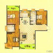 万正龙城3室2厅2卫135--137平方米户型图