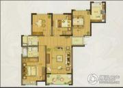 申亚乐庭3室2厅1卫117平方米户型图