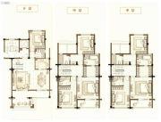 中梁首府壹号院4室2厅4卫155平方米户型图