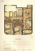 绿地新都会2室2厅1卫112平方米户型图
