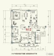 泰安道五大院3室2厅3卫262平方米户型图