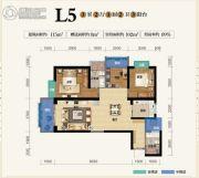 俊发盛唐城3室2厅2卫115--123平方米户型图