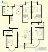 星河御城4室2厅3卫218平方米户型图
