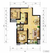 北郡帕提欧2室2厅1卫93平方米户型图