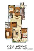 恒大御景半岛4室2厅2卫221平方米户型图