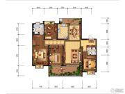 紫薇永和坊4室0厅0卫208平方米户型图
