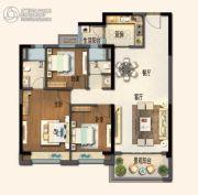 碧桂园欧洲城3室2厅2卫119平方米户型图