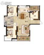 兰石睿智名居3室2厅1卫93平方米户型图