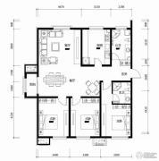 浅山香邑3室2厅2卫0平方米户型图